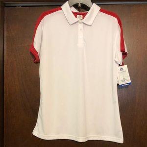 NWT. Women's Russell golf shirt